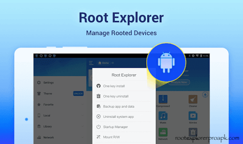 Root Explorer Pro APK features